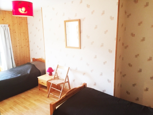 Chambre lit doubles